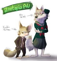Zootopia AU design for Fuyuhiko and Peko. I fear getting my artblock even worse so I had to draw whatever tf comes to mind- lol Zootopia (c) Disney Zootopia! Zootopia Wolf, Zootopia Characters, Zootopia Concept Art, Anthro Furry, Amazing Drawings, Creature Design, Character Design Inspiration, Furry Art, Fantasy Characters