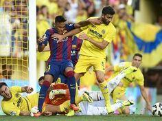 Neymar volta e Barcelona derrota o Villarreal com gol do jovem Sandro - Futebol - iG. Foto: Manuel Queimadelos