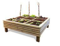 De beste tips om de vierkante meter moestuinbak te kopen die het beste bij jou kweek ideeën past! Plus een lijst met ongelooflijk veel moestuin plantenbakken, waaronder deze moestuinbak Venice laag.
