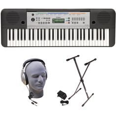 Ez 200 Digital Keyboard 61 Keys With Stand Choice Materials The Cheapest Price Yamaha Electric Organ
