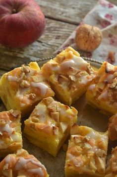 Polish Recipes, Polish Food, Dessert Recipes, Desserts, Hawaiian Pizza, Coffee Cake, Sweet Recipes, Holiday Recipes, Macaroni And Cheese