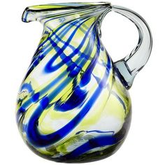 These thick glass pitcher's are great to the eye and last through all of my boys!!