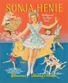 Hollywood Movie Star Paper Dolls | Sonja Henie Paper Doll Book [Hollywood's skating star!] : Paper Dolls ...