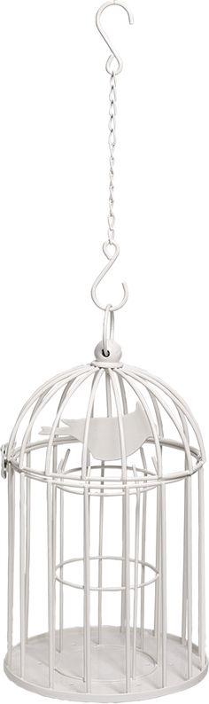 Talvenvalkoinen, tyyliltään romanttinen linnunruoka-automaatti talipalloille. Automaatti muistuttaa lintuhäkkiä, jota koristaa metallista valmistettu lintukuvio. Häkin sisällä on teline, johon mahtuu kymmenen pientä talipalloa. Suunnittelija: Alexander Lervik. Materiaali: Galvanoitu, valkolakattu metalli. Mitat: Ø19cm, korkeus 32cm.