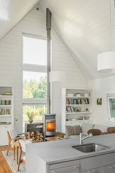 Cranberry Isles House by Elliott + Elliott Architecture