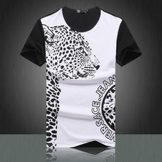 835 Tiger Versace T Shirt Outlet Sale comprar zapatos outlet 2014 marcas deportivas Shirt Art, My T Shirt, Cheer Shirts, Sports Shirts, Versace Medusa T Shirt, Gucci T Shirt Mens, Versace T-shirt, Sport Shirt Design, Matching Couple Shirts