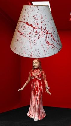 Carrie White Lamp - For Halloween. Enter the Carrie The Movie & Gypsy Warrior Giveaway! - gyps.ws/carriethemoviecontest