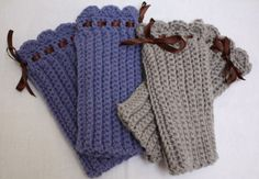 CROCHETED FINGERLESS GLOVES | Crochet For Beginners