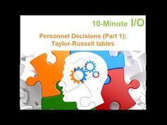 This video provides an overview of test (and assessment) reliability concepts including test-retest, internal consistency, parallel forms, split-half, and in. Taylor Russell, Behavioral Interview, Personality Assessment, Psychology, Concept, Make It Yourself, Human Nature, Youtube, People