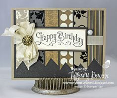 The Yellow House Designs: Stampin' Queen's Sketch Challenge #26