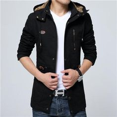ba81f8583c389 Jacket Winter Autumn Man Warm Coat 4Xl 5Xl Plus Size Male Windbreaker 100%  Cotton Jacket Xt480