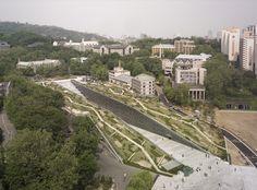 도미니크 페로가 설계한 이화여대 캠퍼스 Ewha Womans University, Seoul, Korea Dominique Perrault Architecture