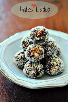 Date & Nut Balls: 15-Min Date Nut Ladoo (Laddu) Recipe for Diwali