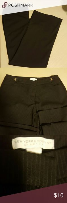Nice new York and comp. Pants Mint condition ,  31 inseam New York & Company Pants Straight Leg