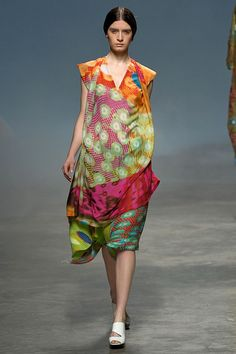 issey miyake color layering prints - my past life in byzantine ancient world
