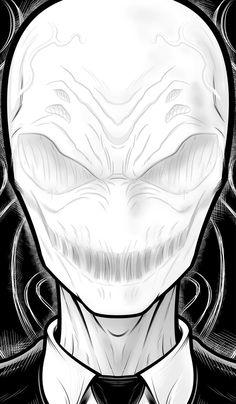 Slender Man by Thuddleston.deviantart.com on @DeviantArt