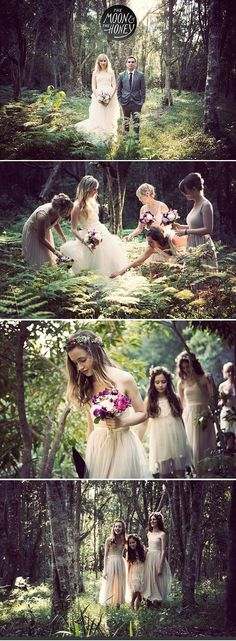 How to Throw a Magical Bohemian Wedding in the Forest