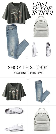 """untitled 533"" by deboraaguirregoncalves on Polyvore featuring Converse"