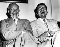 Dwight Eisenhower and Richard Nixon