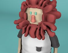 "Check out new work on my @Behance portfolio: ""Personagem 3D - Leon!"" http://be.net/gallery/33047417/Personagem-3D-Leon"