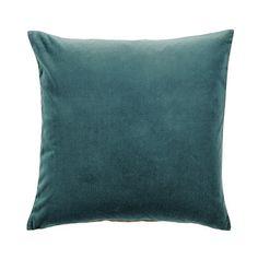 """Signature Velvet & Linen Pillow Cover - 20"""""""