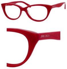 583afe35e0c JIMMY CHOO Eyeglasses 60 0EIF Red 50mm Jimmy Choo.  154.24