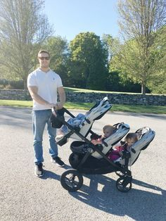 Strollers for triplets with car seats | Baby/Child Gear | Pinterest ...
