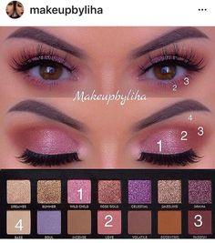 abh norvina palette - life ideas- depending on norvina range - Bright Eye Makeup, Makeup For Green Eyes, Blue Eye Makeup, Eyeshadow Makeup, Eyeshadows, Makeup Inspo, Makeup Art, Makeup Inspiration, Makeup Tips
