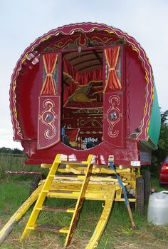 traveling wagon