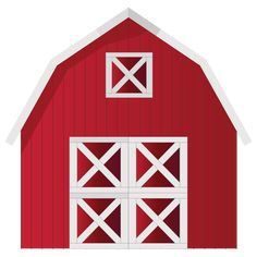Red Barn Clip Art at Clkercom vector clip art online Clipart - Free Clipart Cowboy Birthday, Farm Birthday, Animal Birthday, Farm Unit, Woodworking Shows, Farm Party, Farm Theme, Down On The Farm, Party Kit