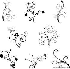Коллекция картинок: Отрисовки, виньетки и зентанглы