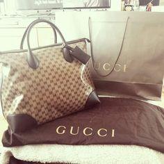 Gucci GG travel bag