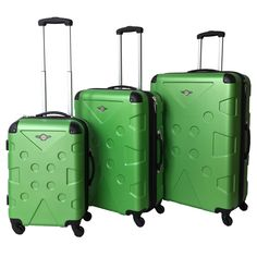 Heys Serengeti 2 Piece Hardside Spinner Luggage Set Carry on ...