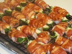 Bacon Wrapped Jalapeno Poppers - Mrs Happy Homemaker