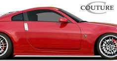 2003-2008 Nissan 350Z Couture Vortex Side Skirt Rocker Panels - 2 Piece