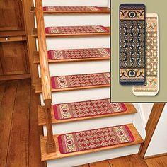 Ivory Rug Carpet Stair Treads Set Of 12 Non Skid Stair Treads Make Steps  Safer Set Of 12   X W Non Skid Stair Treads Make Steps Safer Without  Sacrificing ...