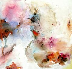Abstract watercolor - Aquarelle abstrait