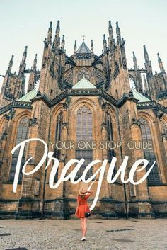 Explore outside the normal tourist spots in Prague. Find the local neighborhoods outside of the top touristy spots! Check out this guide for where to go and best Things to do in Prague and Where to go in Prague. #czechrepublic #prague #traveller