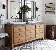 Great resource for anyone planning a bathroom remodel! Farmhouse bathroom design ideas for your remodel - vanities, lighting, mirrors and more! Bathroom Renos, Small Bathroom, Master Bathroom, Bathroom Ideas, Bathroom Vanities, Bling Bathroom, Brown Bathroom, Glass Bathroom, Bathroom Organization