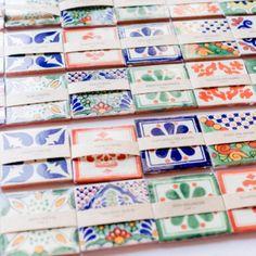 Box Of 100 Mexican Talavera Tiles Handmade Assorted Designs Mexican Ceramic inch Mexican Wedding Invitations, Mexican Wedding Favors, Mexican Wedding Decorations, Mexican Themed Weddings, Mexican Wedding Traditions, Our Wedding, Wedding Ideas, Wedding Details, Destination Wedding