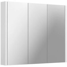 Buy your dream bathroom suite online. Bathroom Mirror Cabinet, Mirror Cabinets, Mirror Door, Bathroom Cabinets, White Bathroom Furniture, White Furniture, Bathroom Essentials, Bathroom Renos, Colorful Furniture