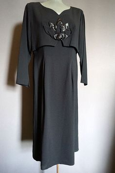 vintage Little Black Dress from The Mabs Collection for sale Dresses For Sale, High Fashion, Vintage Outfits, Cold Shoulder Dress, How To Wear, Clothes, Collection, Black, Women