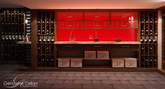 Wine cellar...!