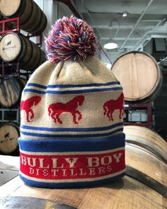 """398 Likes, 39 Comments - Bully Boy Distillers (@bullyboybooze) on Instagram: """"New swag alert - brand new ski hats available today!! Keep your head warm and your friends jealous…"""""""
