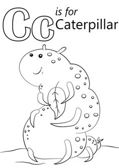 Letter C Is For Cake Coloring Page From Category Select
