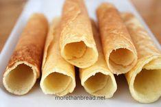 More Than Bread: Hand Made Egg Roll 香脆手工蛋卷