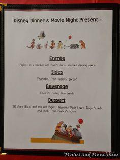 Movies and Munchkins Winnie the Pooh Movie Night