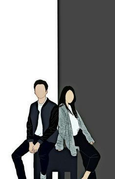 Wattpad Cover Template, Wattpad Book Covers, Cute Couple Drawings, Cute Couple Art, Character Illustration, Illustration Art, Cute Couple Wallpaper, Animated Love Images, Cute Love Images