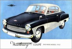 Visit the post for more. East German Car, Peugeot, Europe Car, East Germany, Kustom Kulture, Small Cars, Retro Cars, Art Cars, Cars And Motorcycles