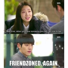 The Heirs ♡ #KDrama #FUNNY i was on young do team the whole time!